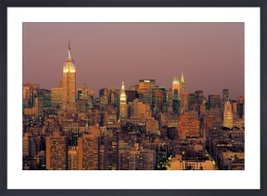 Manhattan Skyline by Richard Berenholtz