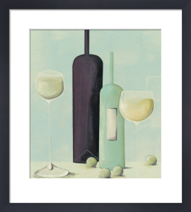 Wine And Grapes by Nicola Evans