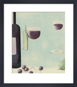 Red Wine With Pear by Nicola Evans