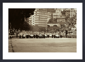 Monaco Grand Prix, 1962 by Jesse Alexander