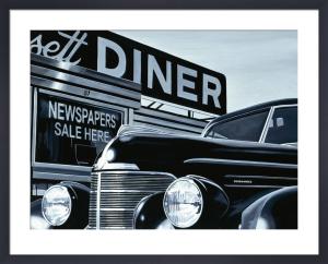Massachusetts Diner by Alain Bertrand