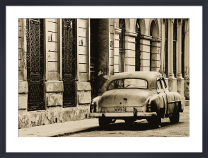 Vintage Car, Havana, Cuba by Lee Frost