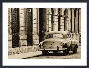 Vintage Car, Havana, Cuba by Lee Frost