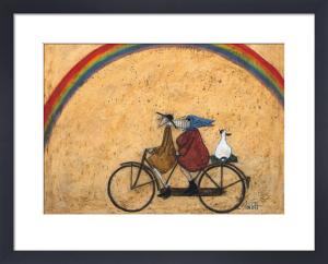 Somewhere Under A Rainbow by Sam Toft