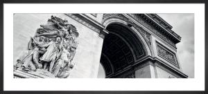 Arc de Triomphe, Paris by Amy Gibbings