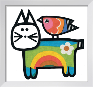 Happy Cat by Jane Foster