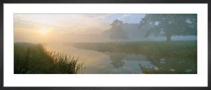 River Aln Dawn by Lee Frost