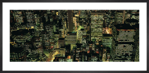 Manhattan Night by Richard Berenholtz