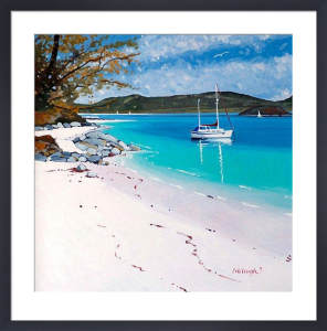 Tranquil Moment, Morar by Frank Colclough