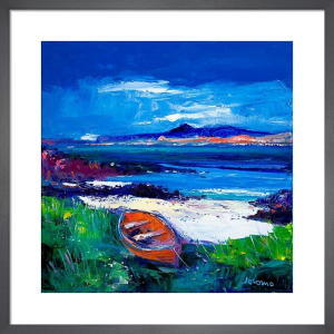Iona and Ben More, Mull by John Lowrie Morrison