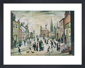 A Lancashire Village by L S Lowry