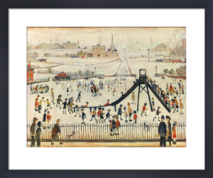 Childrens Playground by L S Lowry