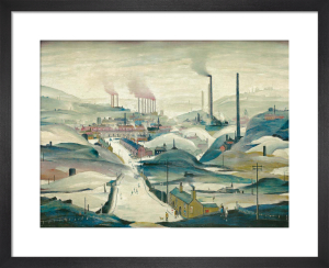 Industrial Panorama by L S Lowry