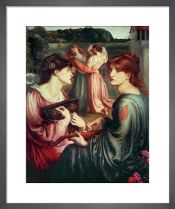 The Bower Meadow by Dante Gabriel Rossetti