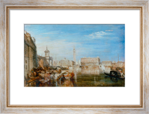 Bridge of Sighs, Ducal Palace and Custom House, Venice by Joseph Mallord William Turner