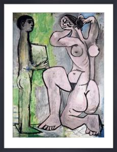 La Coiffure by Pablo Picasso