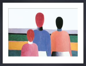 Three Female Figures, 1928-32 by Kazimir Malevich