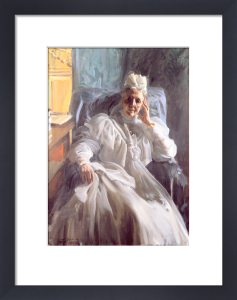 Portrait of Queen Sophie of Sweden and Norway 1908 by Anders Leonard Zorn
