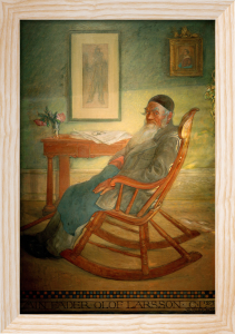 Portrait of Olof Larsson 1903 by Carl Larsson