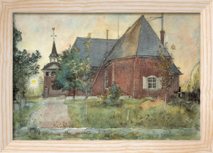 The Old Church at Sundborn 1896 by Carl Larsson