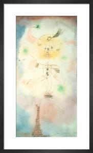 The Comet of Paris 1918 by Paul Klee