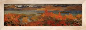 Autumn day near Torne Trosk 1909 by Helmer Osslund