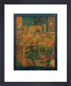 Oriental Garden 1924 by Paul Klee