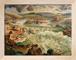 The Norr Stream, before 1926 by Per Leander-Engstrom