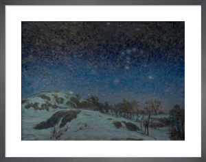 Winter Night 1907 by Karl Nordstrom