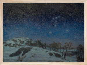 Winter Night 1907 by Karl Nordstrom