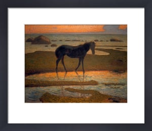 Horse on the Beach (Summer Night), 1902 by Nils Edvard Kreuger