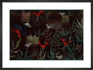Vogelgarten (Bird Garden), 1924 by Paul Klee
