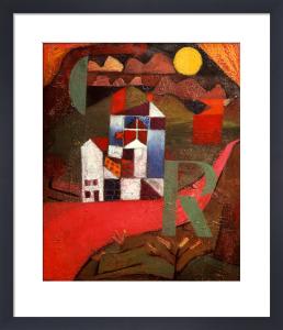 Villa R. 1919 by Paul Klee