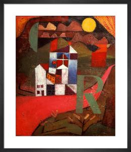 Villa R. 1919 by Paul Klee