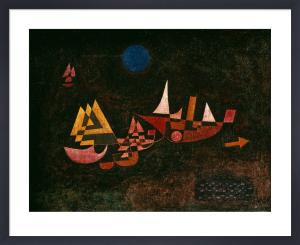 Abfahrt der Schiffe (Ships setting Sail), 1927 by Paul Klee