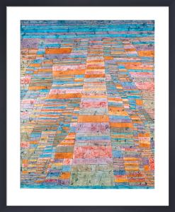Haupt- und Nebenwege, (High- and By- ways), 1929 by Paul Klee