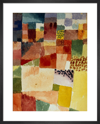 Motive from Hamammet 1914 by Paul Klee