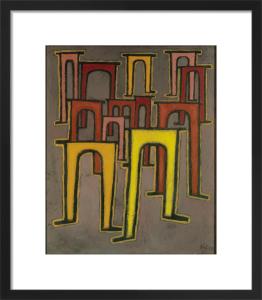 Revolution des Viadukts (Revolution of the Viaduct), 1937 by Paul Klee