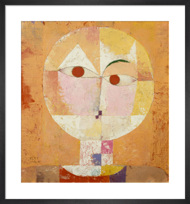 Senecio (Old man), 1922 by Paul Klee
