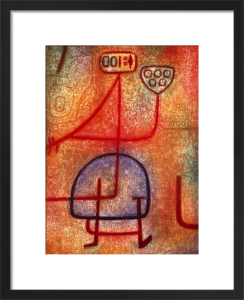 La belle Jardiniere 1939 by Paul Klee