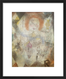 Irma Rossa, die B{ndigerin (Irma Rossa, the Tamer), 1918 by Paul Klee