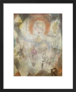 Irma Rossa, die B{ndigerin (Irma Rossa, the Tamer), 1918 by Paul Klee