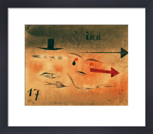 Siebzehn (Seventeen), 1923 by Paul Klee