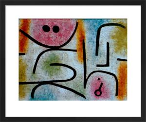 Zerbrochener Schlussel (Broken key), 1938 by Paul Klee