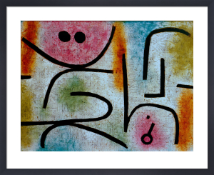 Zerbrochener Schlussel (Broken key), 1938 by Paul Klee