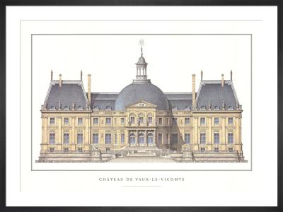 Chateau de Vaux-le-Vicomte by Anonymous