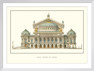 Paris, Theatre de l'Opera by Anonymous