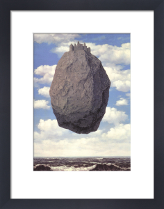 Le Chateau des Pyrennees by Rene Magritte