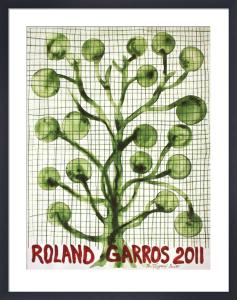 Roland Garros by Barthelemy Toguo