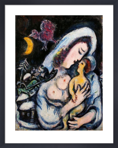 Motherhood by Marc Chagall